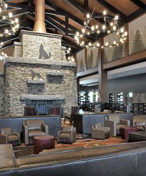 Lobby View Great Wolf Lodge LaGrange GA May 2018